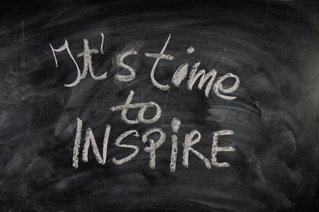 Tipps fuer grossartige Referate und Praesentationen. It's Time to Inspire.