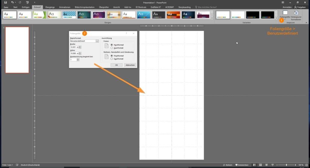 PowerPoint Präsentation Design Tipps