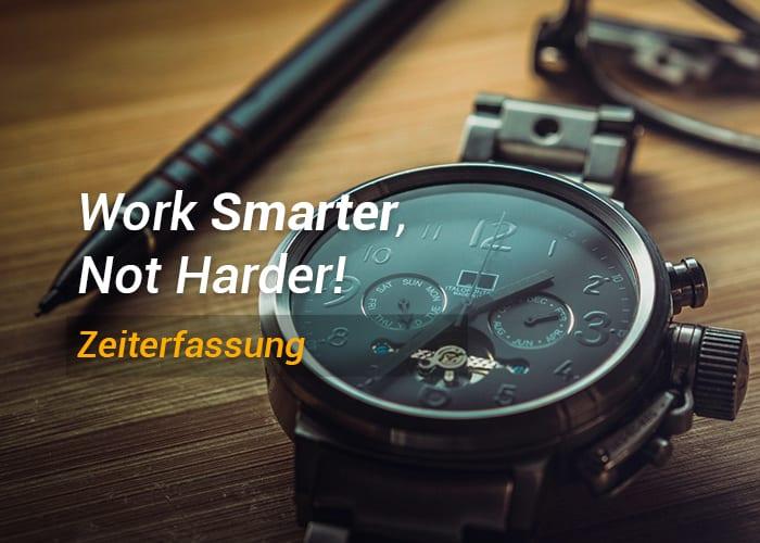 Work Smarter, not harder! Zeiterfassung im Studium